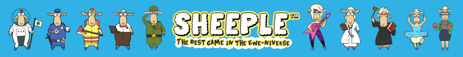 SHEEPLE: The Best Game in the Ewe-niverse family party board game